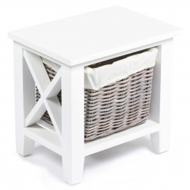 Wicker Merchant 1 Basket Cabinet