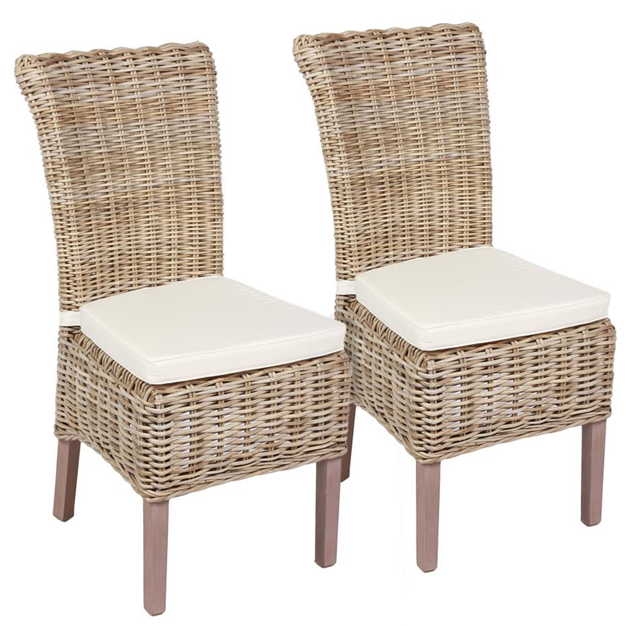 Kooboo Wicker Chair: French Furniture From Homesdirect