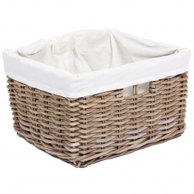 Wicker Merchant Rectangular Basket