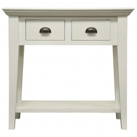 Wicker Merchant Shabby Chic Console Table