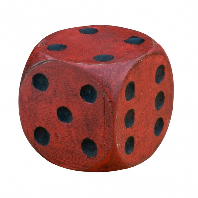 Wooden Red Dice