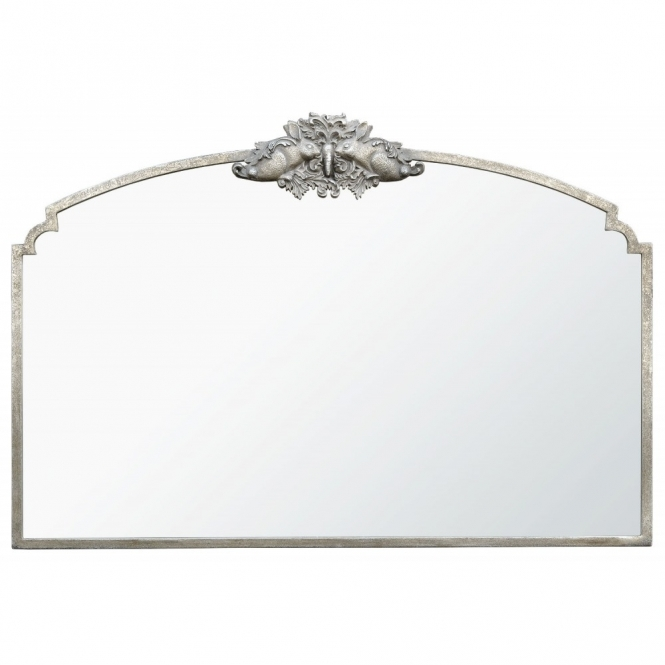 Woodland Crest Antique French Style Wall Mirror
