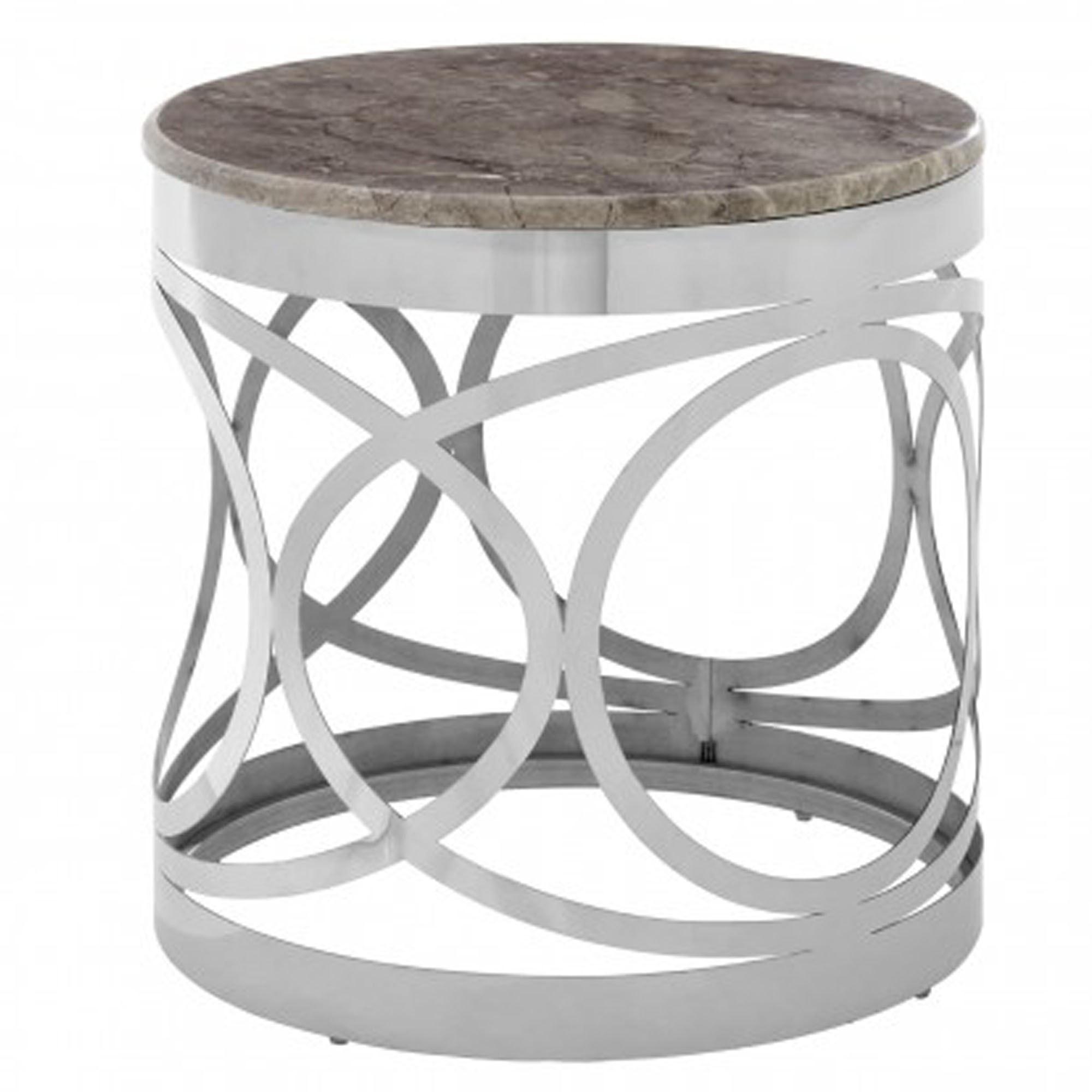 Yasmin Marble Side Table