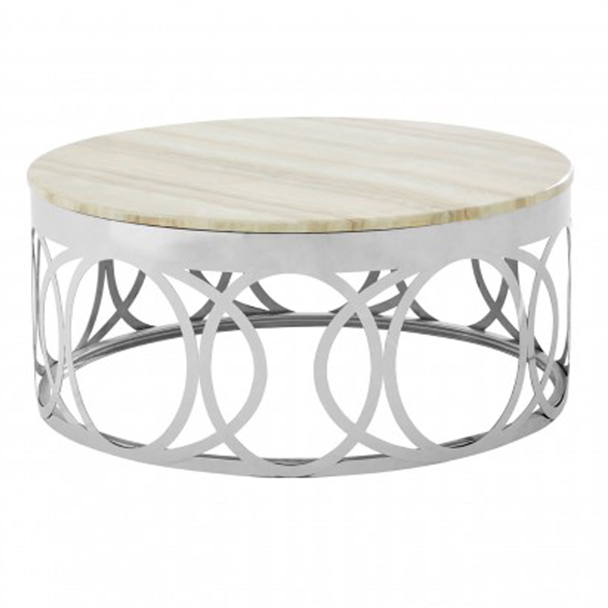 White Marble Coffee Table.Yasmin White Marble Coffee Table